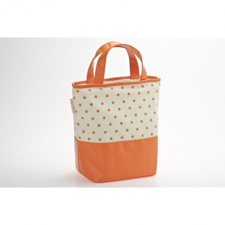 Lunchbag 15x32x29 cm Dining at work - Orange