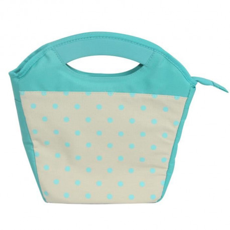 Lunchbag 29x11x28 cm Dining at work - Turquoise