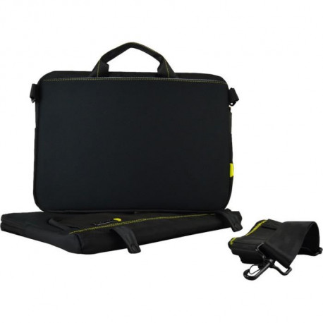 TECHAIR Sacoche informatique 11'' - 13.3'' - Compartiment Amovible - Compatible Mac Book Air - Intérieur Peluche