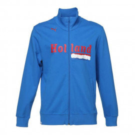 PUMA Veste Zippée Teams Hollande Homme - Bleu