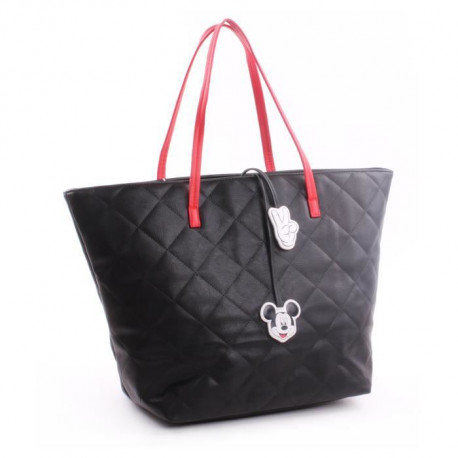 MINNIE & MICKEY Sac Shopping Fille 32 cm