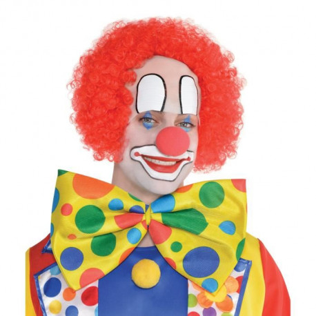 AMSCAN Perruque Clown Dégarni Adulte