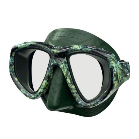 SEAC Masque One Kama - Silicone - Vert  - Haute définition